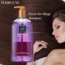 Anti-dandruff mild keratin hair shampoo