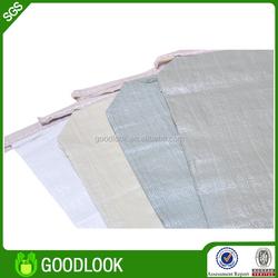 custom stytle OEM pp woven polyester 25kg cement paper bag