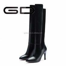 GD 2015 new fashion women winter women boot shoes, long boots in europe ,high heel women boots