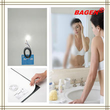 Top quality mirror heating pads for modern bathroom mirror, 16years supply for hotels