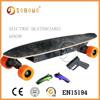 2015 off road electric mini wood skateboard Brushless motor OEM Electric skate board