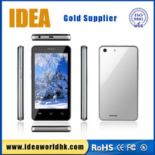 OEM/ODM cellphone factory supply high quality 4inch qual core smart mobile phone