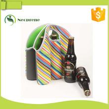 hot selling 6 pack neoprene beer bottle cooler