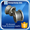dn100 pn16 carbon steel flange waterstop reinforced bellows expansion joint