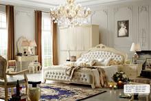 Foshan shunde solid wood model furniture bedroom