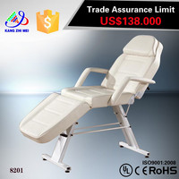 Simple facial bed/portable facial bed/hydraulic facial bed spa table tattoo salon chair KM-8201