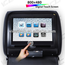 made in china headrest car dvd player with usb sd 12v