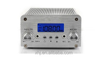 10W/2W switchable FM station broadcast transmitter with Bluetooth audio input function