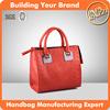 4020-red color fashion lady handbags, designer bags handbag women famous brands