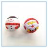 Cute Christmas Snowman Shaped Foam PU Stress Ball