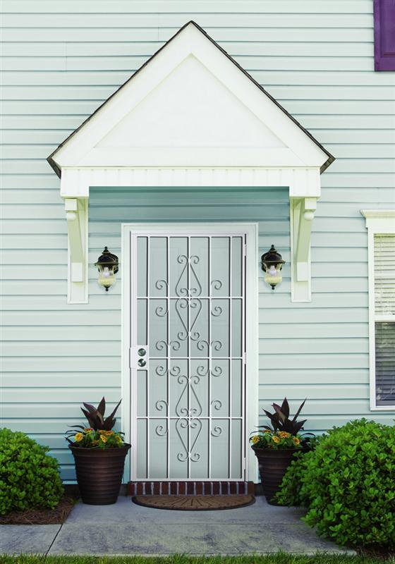 Roller Shutter Exterior Window Wrought Iron Exterior Door With Sidelight With Great Price