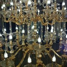 2014 Lámpara candelabro LED de cristal para mesa, lámpara para colgar