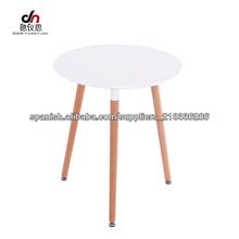 mesa de madera mesa moderno para la sala y comedor