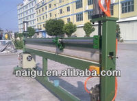 Cutting and sealing machine for plastic bags