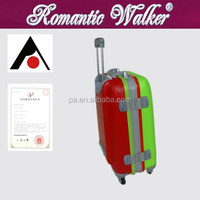 New fashion 360 degree spinner wheels PC material trolley luggage, luggage cover