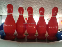 2015 Top quality Giantkids rolling pin,crystal bowling pin,inflatable bowling pins