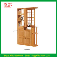 2015 GZ furniture new product display wine cabinet