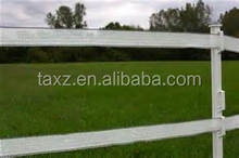 Chinese production base made in Shandong Taian animal fence polywire polytape polyrope polybraid electric netting