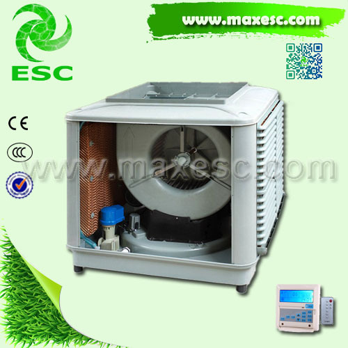 Indirect Evaporative Cooler : Indirect fan cooler blower honey comb evaporative air