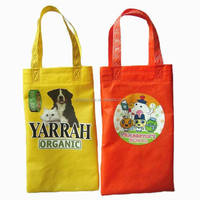 dog food nonwoven carring bag with logo printed