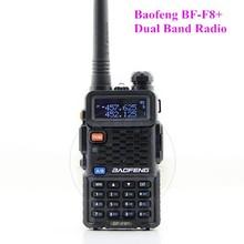 Dual Band Interphone BF-F8+ Baofeng Ham Radio With High/Low Power Switch (5W/1W Power)