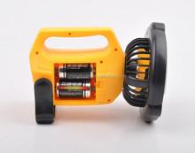 LED rechargeable portable led fan light