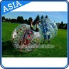 2015 Top quality clear 0.8mm PVC/TPU adults bubble soccer, body zorb, soccer zorb ball