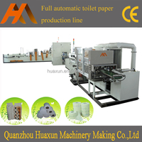 Full Automatic Toilet Tissue Paper Making Machine Production Line