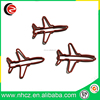 Plastic Coated Airplane Paper Clip