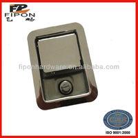 China Rotary Paddle Latch Flush Handle Lock Transportation Hardware