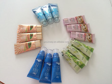 BB Cream Packaging Tube with Electroplating Silver Caps pump caps