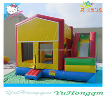 bouncy house China wholesale good price inflatable winter bounce house for kids play or rental