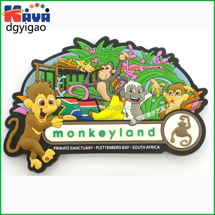 Customized 2D or 3D soft pvc fridge magnet for promotion gift