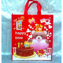 Environmental Non Woven Shopping Bags Cute PP Non Woven Shopping Bags