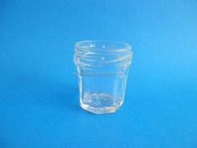 20ml mini glass jar for honey with 38mm cap