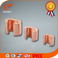 C Type Crimp Connectors for parallel groove clamp or Tap Connections of Copper Cables