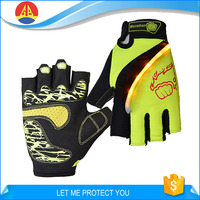 Half Finger Led Lighting Bicycle and Riding Gloves