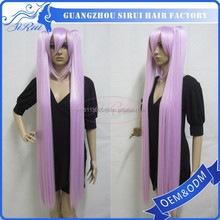 2015 Cheap fashion colourful synthetic sexy cosplay lingerie, sexy cosplay naruto, sex witch cosplay wigs
