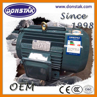200KW Three Phase Induction Motor, AC Industrial Electric Motor with Squirrel Cage