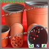 plastic flower pot, soft flower pot, colored flower pot
