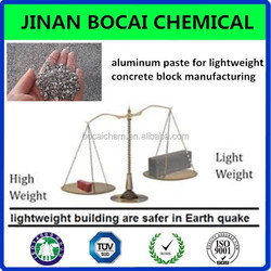 gas generating aluminium paste for AAC low weight building brick and concrete