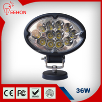 High quality 36w Oval Shape LED Work Light for SUV, MPV and 4X4 off-road auto