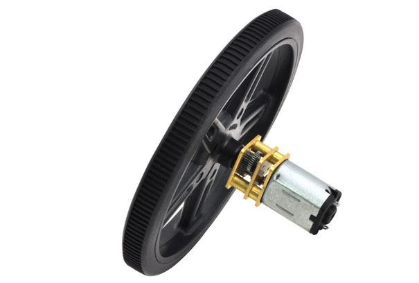 High quality Robot Smart Car DC Motor Wheel 60*8mm