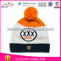 2014 fashion Style Jacquard Winter Beanie Hat/Wholesale Beanie Babies