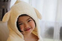 Antibacteriano e Ultra macio toalha de banho com capuz menino roupão