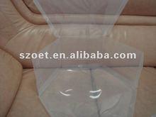 folding plastic clear hat box