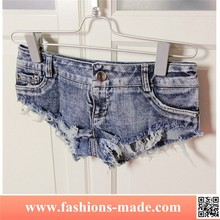 Women Cut-out Skinny Jeans Hot Sexy Shorts