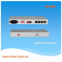 Superior Quality Desktop 4 Channels Voice Receiver