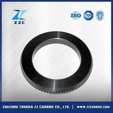 China wholesale heat resistance tungsten carbide roller for rolling reo bar in Brazil