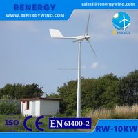 Low noise windmill CE&ROHS approval small wind turbine generator for home use